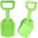 Лопатка детская 37 см цвет зелёный