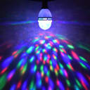 Лампа светодиодная «Диско» 3 LED E27 мультисвет