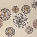Скатерть «Этно» 160х140 см цвет бежевый