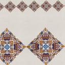 Скатерть «Калейдоскоп» 160х140 см цвет бежевый