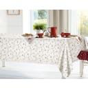 Скатерть «Цветы» 160х140 см цвет бежевый