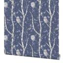 Обои флизелиновые Home Color Wonderful синие 1.06 м HC71534-56