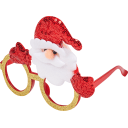 Маскарадные очки «Дед мороз»
