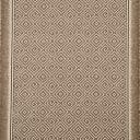 Дорожка ковровая «Оти» 1 м, цвет коричневый