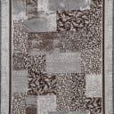 Дорожка ковровая «Вербена» 1 м, цвет серый