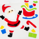 Набор новогодних наклеек «Дед Мороз»