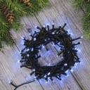 Электрогирлянда комнатная «Нить» 10 м 100 LED белый 8 режимов