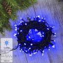 Электрогирлянда наружная «Нить» 10 м 100 LED синий 8 режимов