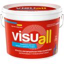 Краска интерьерная Visuall база А цвет матовый белый 9 л