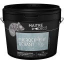 Высокопрочный материал с эффектом бетона Maitre Deco «Microciment Devant» 3 кг