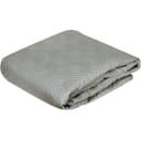 Покрывало Granit 3, 220x240 см, хлопок, цвет серый