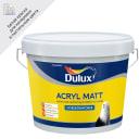 Краска для стен и потолков Dulux Acryl Matt глубокоматовая база BW 9 л