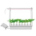 Набор светильников светодиодных для растений Uniel 540 мм 10 Вт, светло-розовый свет, цвет белый