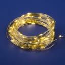 Электрогирлянда комнатная Uniel «Роса» 10 м 100 LED тёплый белый IP20 на батарейках