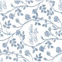 Скатерть «Розовый сад», прямоугольная, 160х135 см, цвет белый/серый