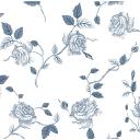 Скатерть «Розы», прямоугольная, 160х135 см, цвет белый/серый