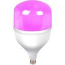 Фитолампа светодиодная E27 220-240 В 50 Вт 800 лм, фиолетовый свет