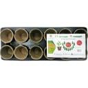 Набор горшков для рассады ГазонCity «11 огурцов и 1 помидор»