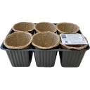 Набор горшков для рассады ГазонCity «Цветочный»
