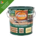 Масло для террас Pinotex цвет прозрачный 2.7 л