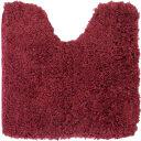 Коврик для туалета Swensa Lungo 50x50 см цвет тёмно-красный