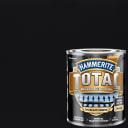 Краска по ржавчине Hammerite Total цвет чёрный матовый 0.75 л