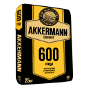 Цемент Akkerman М600 ЦЕМ I 52.5Н 25 кг