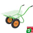 Рама для садовой тачки с двумя колёсами Geolia до 320 кг сталь