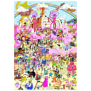 Постер Просто Постер Время приключений - В розовых тонах 60х90 см