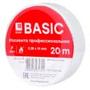 Изолента класс А (0,18х19мм) (20м.) белая EKF Basic