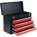 Ящик для инструмента металлический с 4-мя выдвижными полками