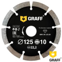 Диск алмазный GRAFF 125х10х2.0х22.23 мм GDD 18 125.10