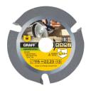 Пильный диск GRAFF 115 мм Z=3 speedcutter115