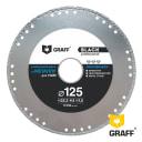 Диск алмазный GRAFF 125х1.5х22.23 мм GDDM125B