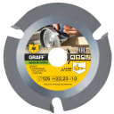 Пильный диск GRAFF 125 мм Z=3 speedcutter125