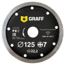 Диск алмазный GRAFF 125х7х2.0х22.23 мм GDD 16 125.7