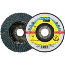 Лепестковый торцевой круг Klingspor Supra SMT 624, 125 мм, выпуклый, P120, 10 шт, 322776 10 шт