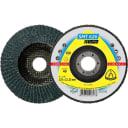 Лепестковый торцевой круг Klingspor Supra SMT 626, 125 мм, выпуклый, P80, 10 шт, 321698 10 шт