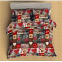 Комплект постельного белья двуспальный Amore Mio Beloved  3024, микрофибра