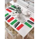 Набор сервировочных салфеток JoyArty Итальянская Пиза np_7257, 4 шт