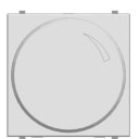 Диммер встраиваемый ABB Zenit 500 Вт, цвет альпийский белый
