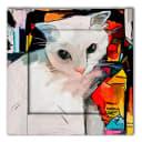 Картина Дом Корлеоне Кошка 70х70 см