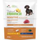 Сухой корм для взрослых собак мелких пород TRAINER Natural Sensitive без глютена Ягненок 800 г