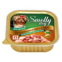 Влажный корм для собак СмоллиДог (Smolly dog), Телятина с цыпленком для щенков, 100г