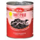 Влажный корм для собак Мясное рагу «Зоогурман - Настоящее мясо», Говядина с гречкой, 350г