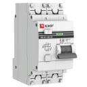 Дифференциальный автомат EKF PROxima АД-32 1P+N 32А/30мА (хар. C, AC, электронный, защита 270В) 4,5кА