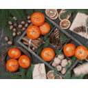 Алмазная мозаика ArtXobby Новогодние мандарины АМ065