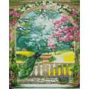 Алмазная мозаика ArtXobby Павлин в саду GF4288