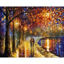 Картина по номерам на холсте Белоснежка Пара у озера 022-AB