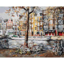 Картина по номерам на холсте Белоснежка Амстердам 118-AB